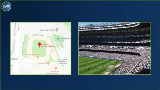 Facebook hirdetés helyszín alapú mikro targeting.  Miért ne hirdethetnél a Facebookon vagy Instagramon akár egy kiemelt sport esemény, például egy labdarúgó Bajnokok Ligája mérkőzés helyszínén tartózkodóknak?