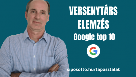 google top 10 versenytárs elemzés